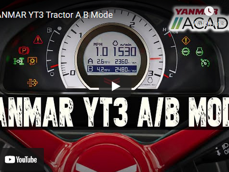 YANMAR YT3 Tractor A B Mode Revealed and Explained