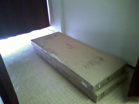 ベッドが届きました! |熊本市東区西原のリラクゼーション整体こころ