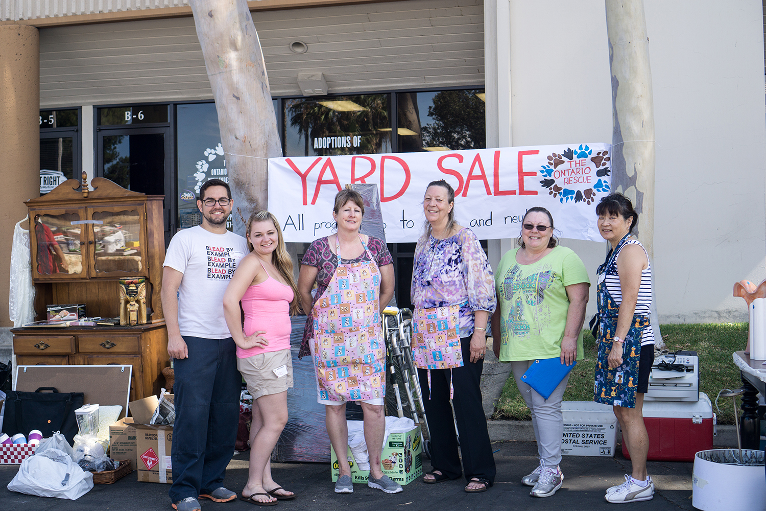 The Ontario Yard Sale - July 2015