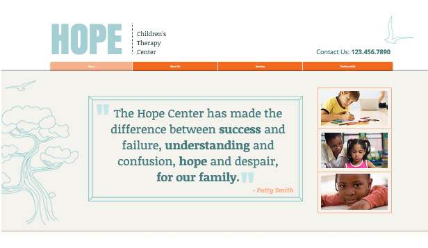 Community website templates – Therapy Center