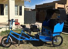 First 5 seater pedicab