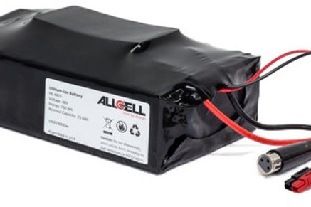 48 volt 23 Ah Lithium Manganese battery with charger