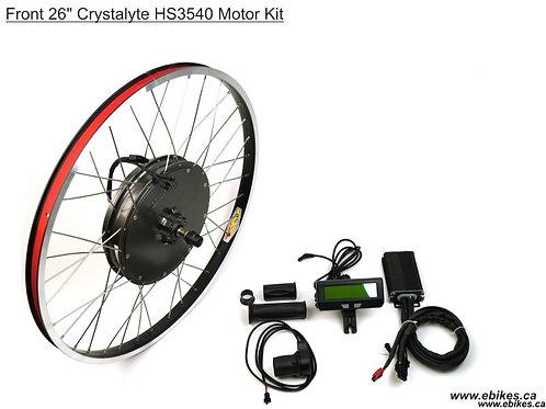 Crystalyte Front H3540 Kit, Basic Throttle
