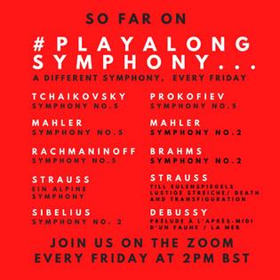 Seb Philpott's 10 inaugural #playalongsymphony's