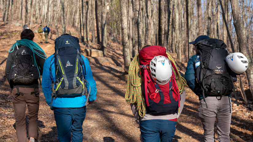 Climbers hike to sumit.jpg