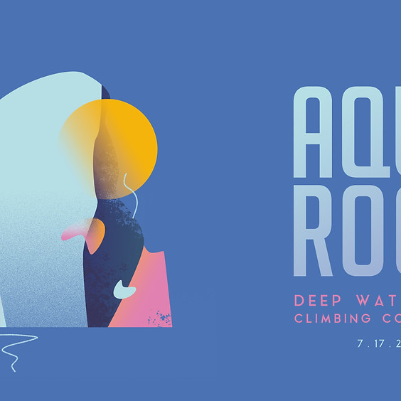 Aqua Rock Deep Water Solo Climbing Competition