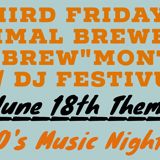 Third Friday's with DJ Festivus