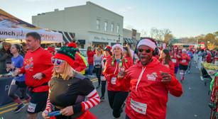 Santa Hustle comes to Belmont and Cramerton