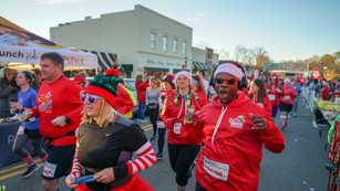 Santa Hustle comes to Belmont and Cramerton