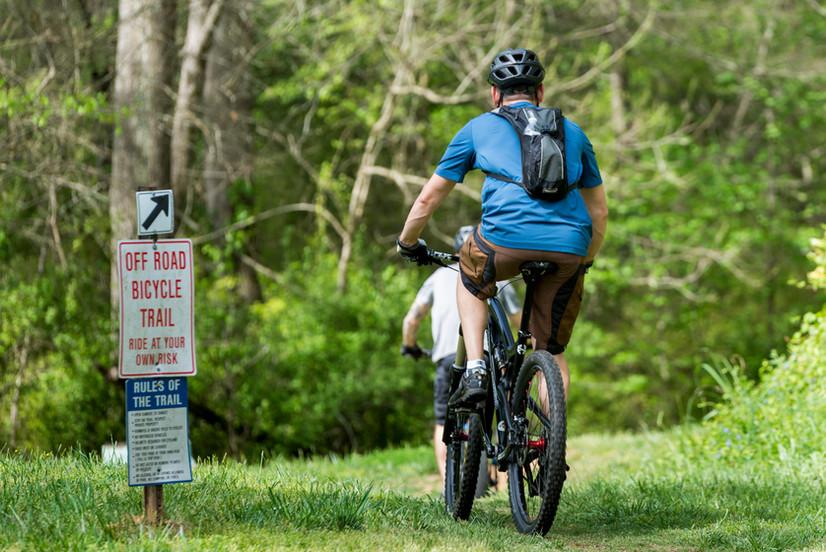 Mountain Biking Rocky Branch Park.JPG