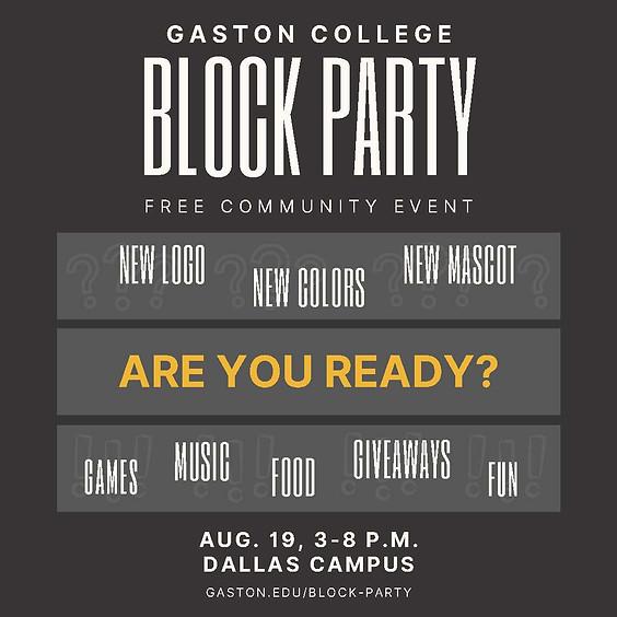 Gaston College Block Party