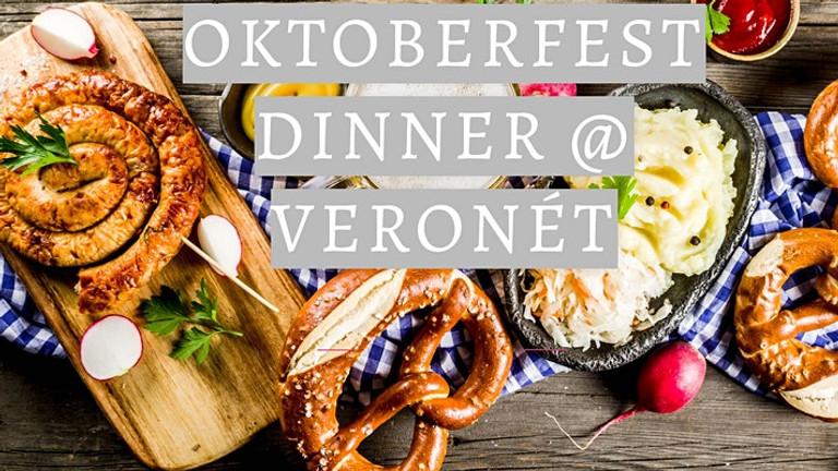 Oktoberfest feast at Veronét