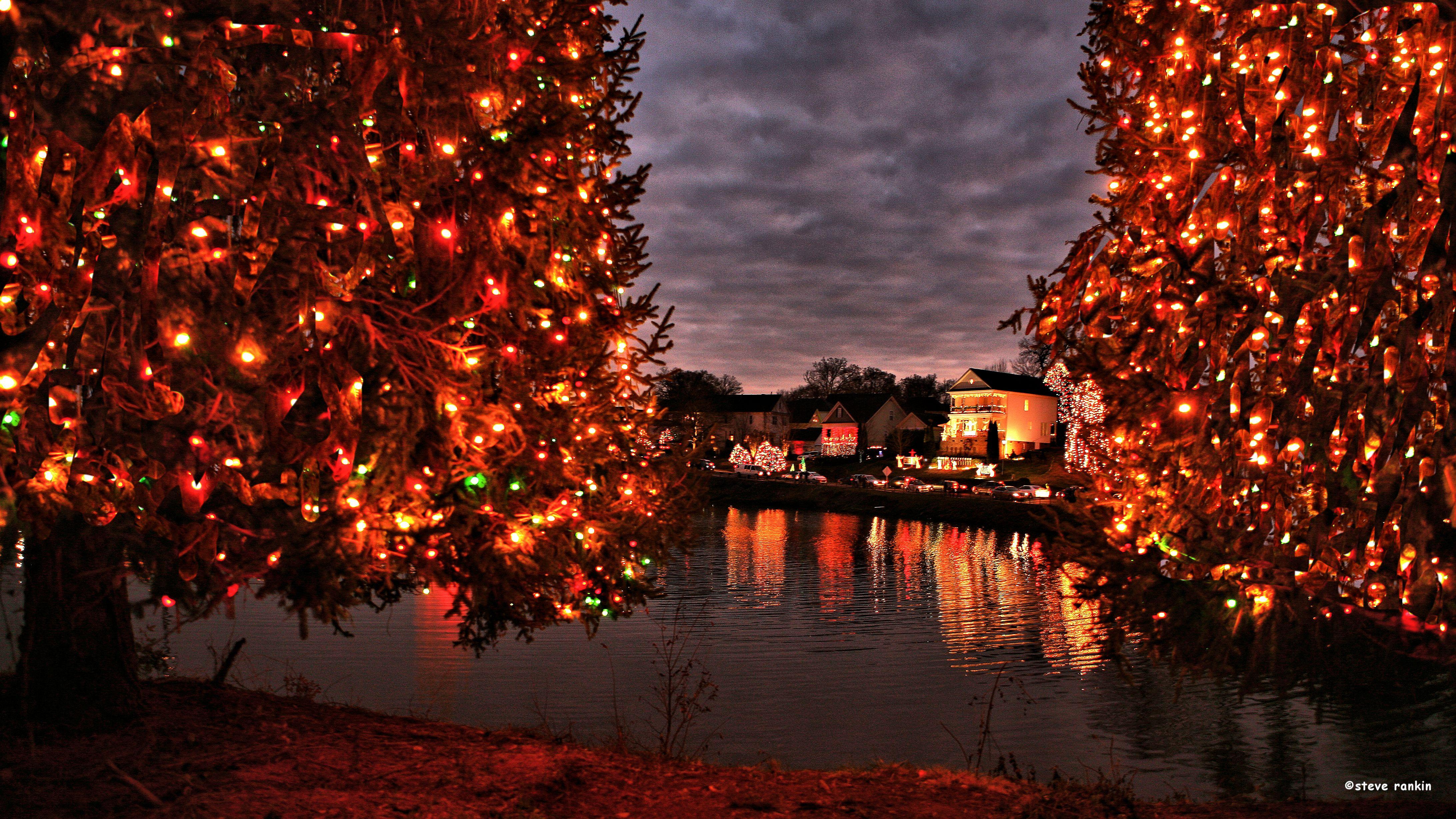 Christmastown USA Lights at Lake McAdenv
