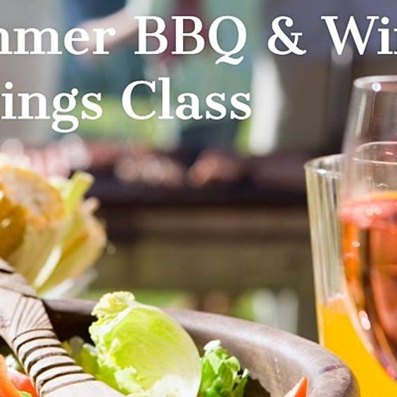 Summer BBQ & Wine Pairing Class