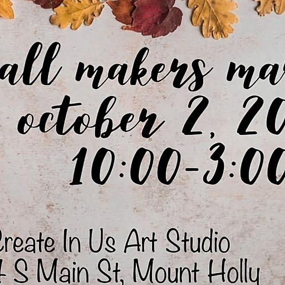 Fall Maker's Market