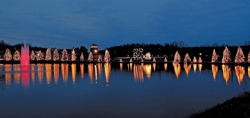 Christmastown USA Christmas Lake High Re