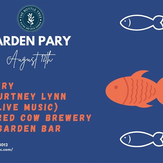 August Garden Party at Bottle Tree