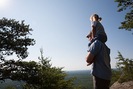 Family Hike Crowders Mountain State Park