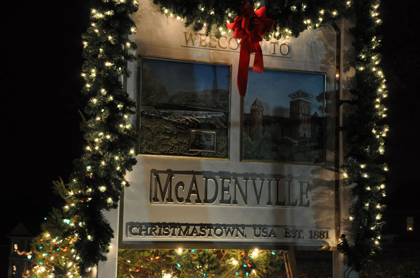Christmas-Town-McAdenville-Sign