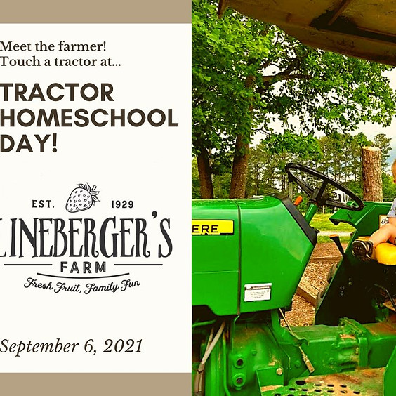Tractor Homeschool Day at Lineberger's Farm