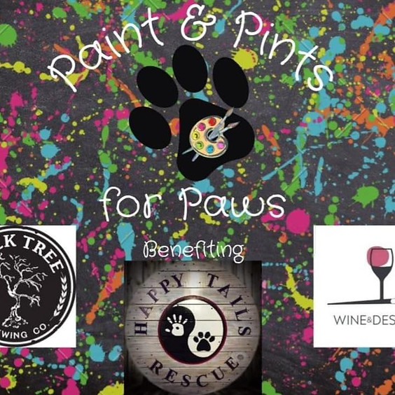 Paint & Pints for Paws