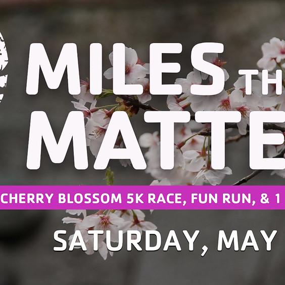 Cherry Blossom 5K, Fun Run, and 1 Mile