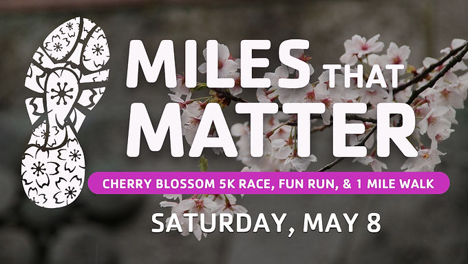 Cherry Blossom 5K, Fun Run, and 1 Mile