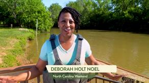 Deborah Holt Noel of NC Weekend Paddles the 11 Mills Blueway