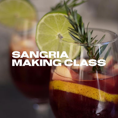 Sangria Making Class