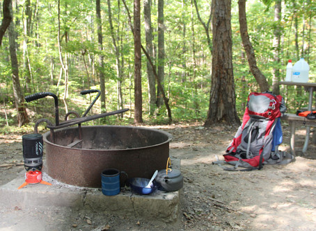 Backpacking Crowders Mountain
