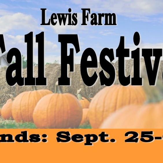 Fall Festival at Lewis Farm