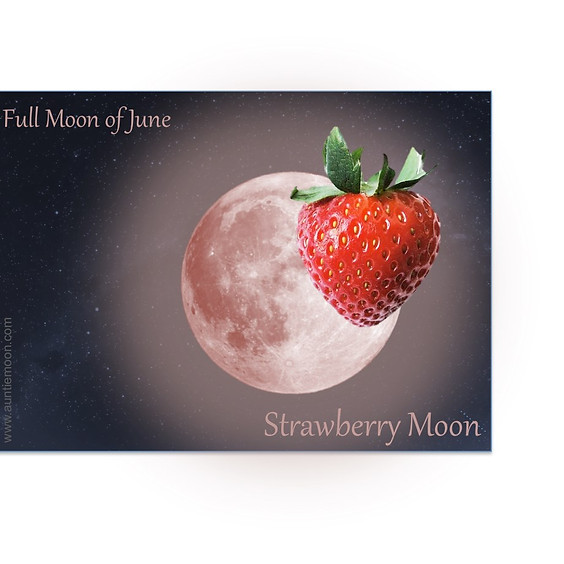 Strawberry Moon Full Moon SUP