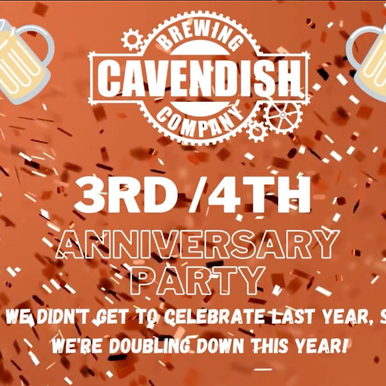 3rd & 4th Anniversary Party!