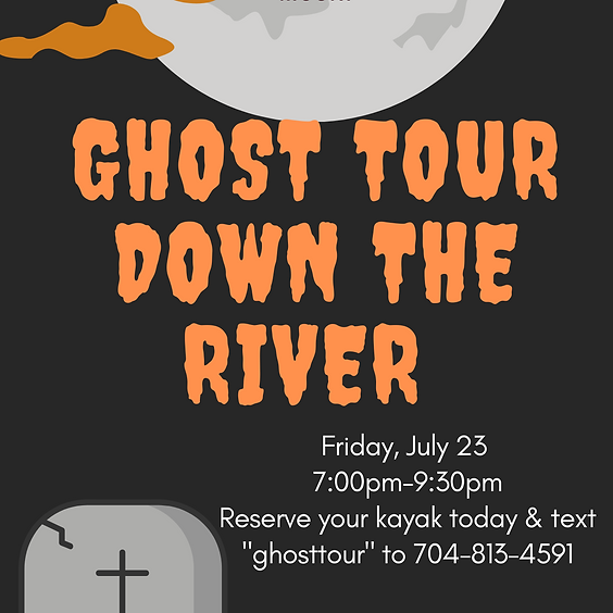 Ghost Tour Down on the River