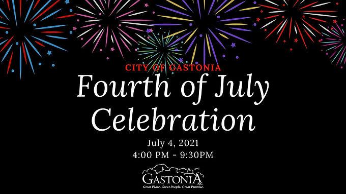 Fourth of July Celebration – GASTONIA