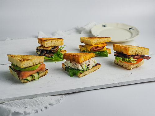 Mini Sandwich Platter (16pcs)
