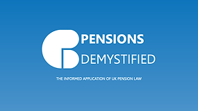 Pensions Demystified - Presentation
