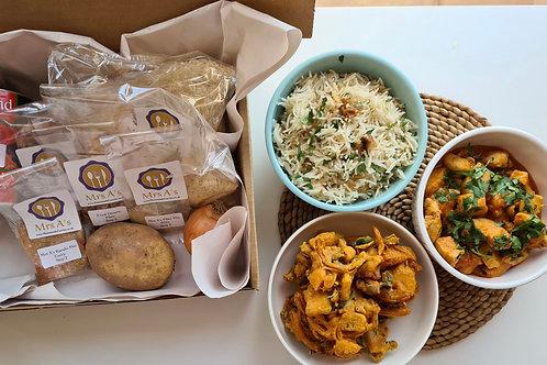 Mrs A's Home Curry Kit -  Karahi Serves 2