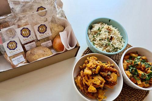 Mrs A's Home Curry Kit -  Karahi Serves 4