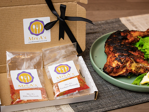 Mrs A's Marinade Kit - Delivery Included