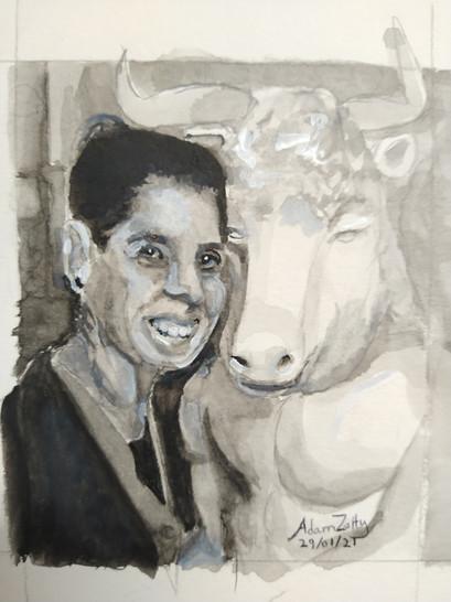 Portrait of Marta Robertson Smyth (2021)