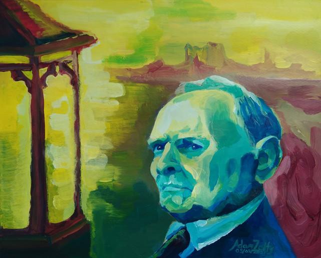 Portrait of Ennio Morricone (2021)