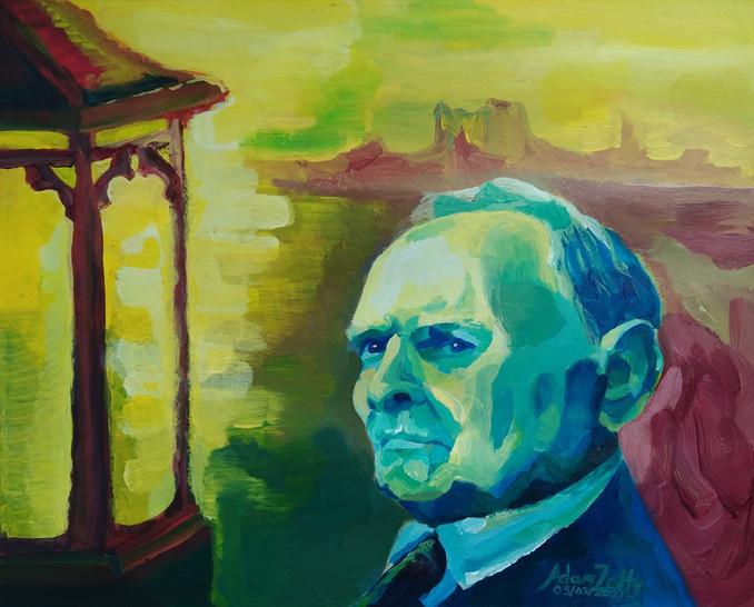 Portrait of Ennio Morricone