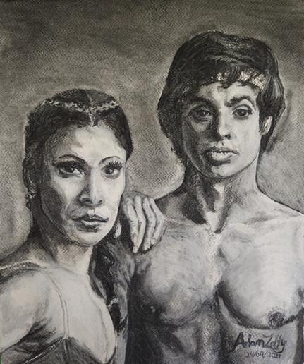 Portrait of Karen Kain and Frank Augustyn in Le Corsaire (2021)