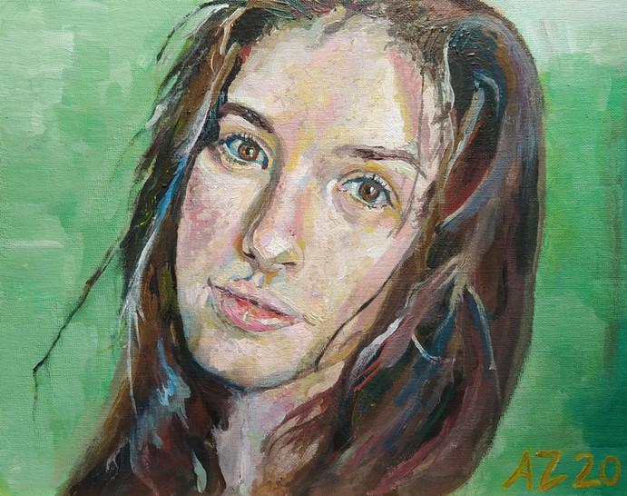 Portrait of Kira Wilting (2020)