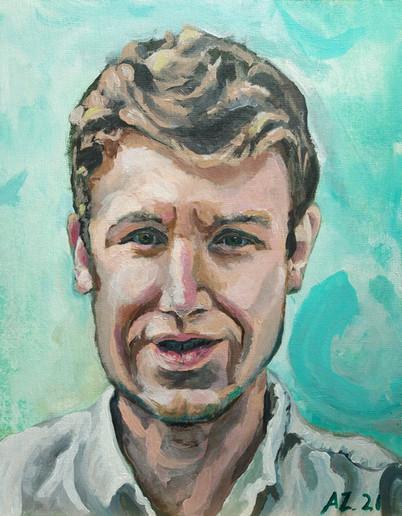 Portrait of Greg Andersen (2021)
