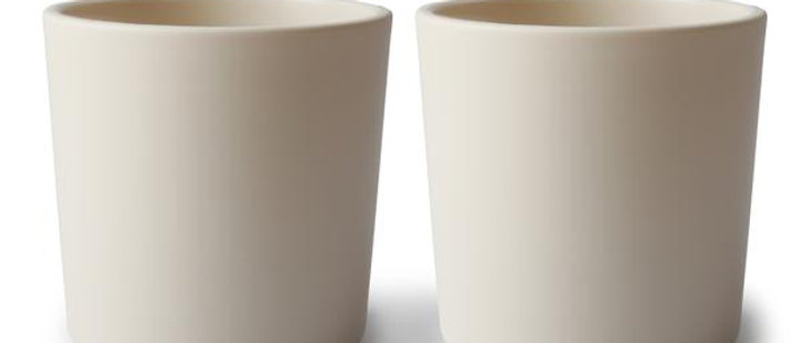 Dinnerware Cup, Set of 2 (Vanilla)