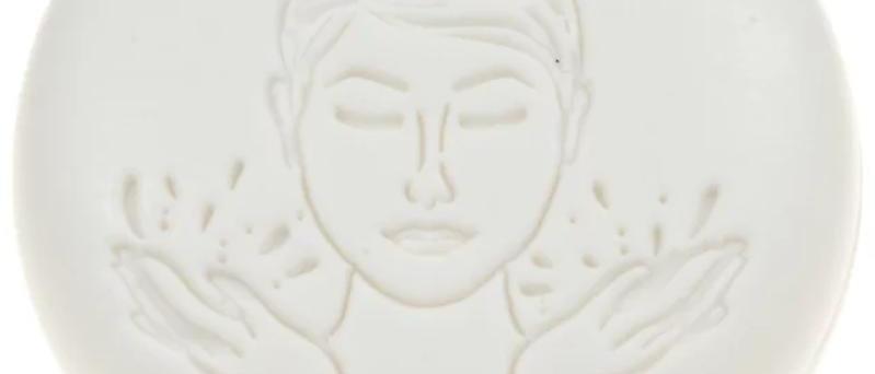 Ovis facial soap ( cotton fragrance 50g,6 cm )