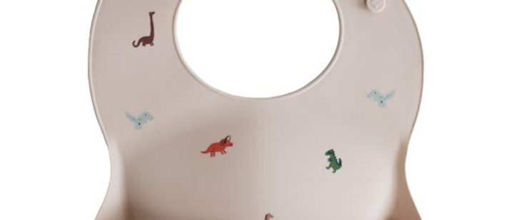 Silicone Baby Bib (Dinosaurs)