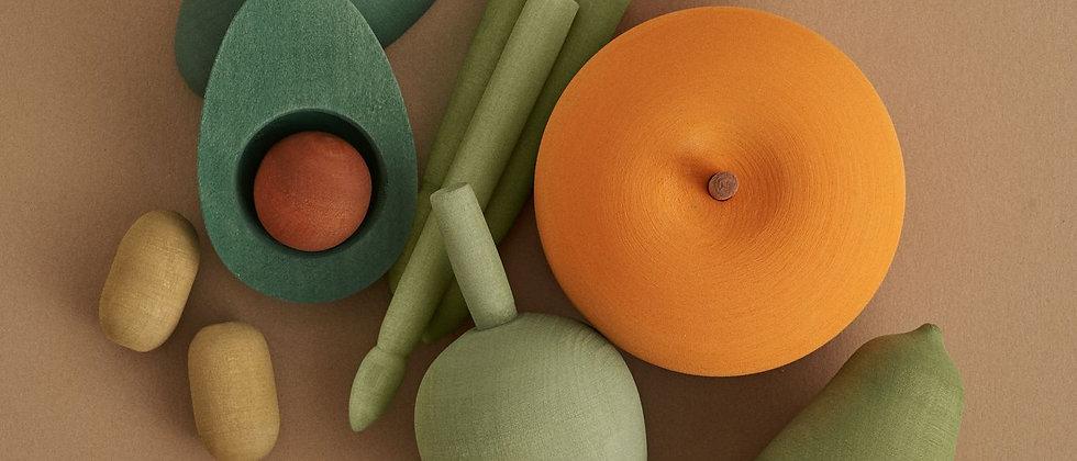 Veggies Wooden Toy Set Vol 2.
